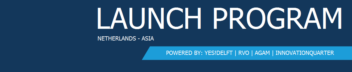 Launch program Netherlands - Asia