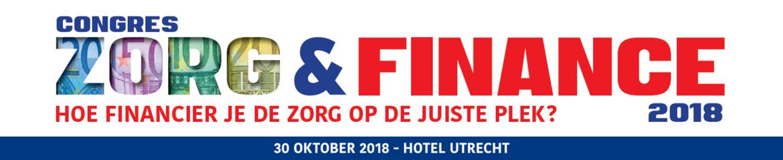 Zorg & Finance | 30 oktober 2018