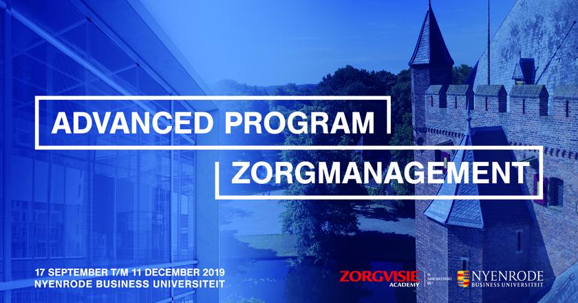 Certificate Program Healthcare Management   17 september 2019