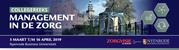 (BTW) Collegereeks Management in de zorg   5 maart 2019