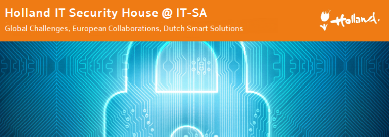 International gathering at Holland IT Security House @ IT-SA 2018