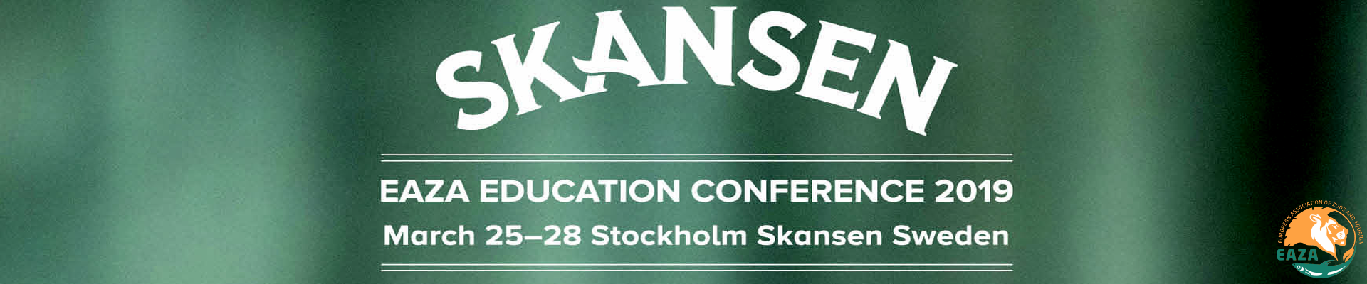 EAZA EDUCATION CONFERENCE 2019