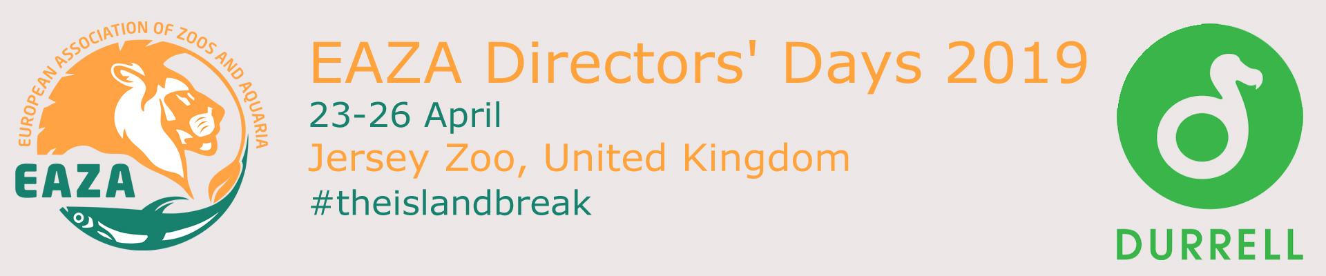 EAZA DIRECTORS' DAYS 2019