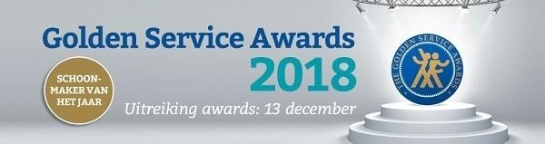 Golden Service Awards 2018 - inschrijven SvhJ 13 december