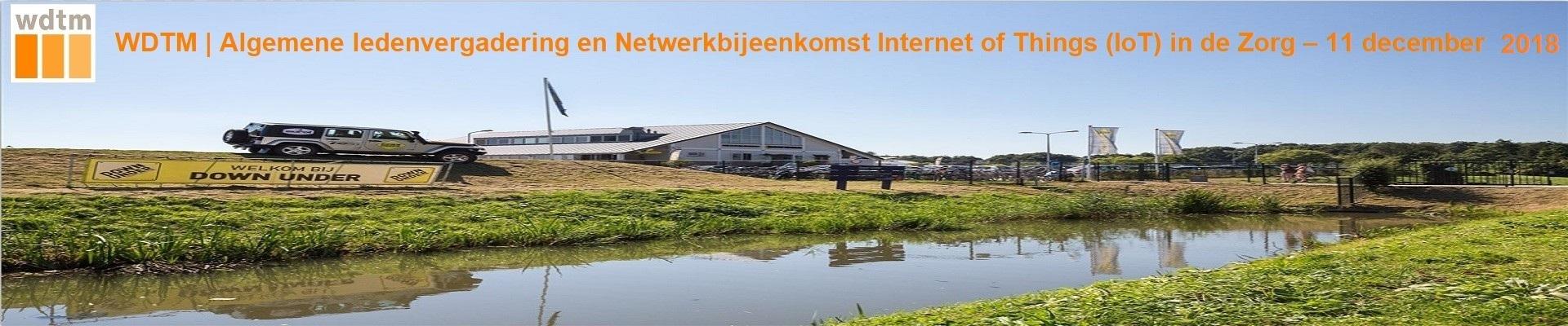 WDTM Netwerkbijeenkomst Internet of Things (IoT) in de Zorg - 11 december 2018