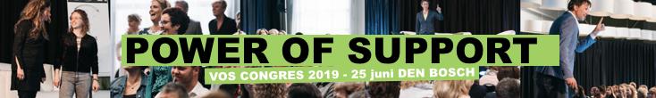 VOS-congres op 25 juni in de Verkadefabriek te 's-Hertogenbosch