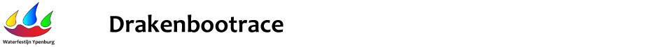 Drakenbootrace Zondag 23 juni 2019