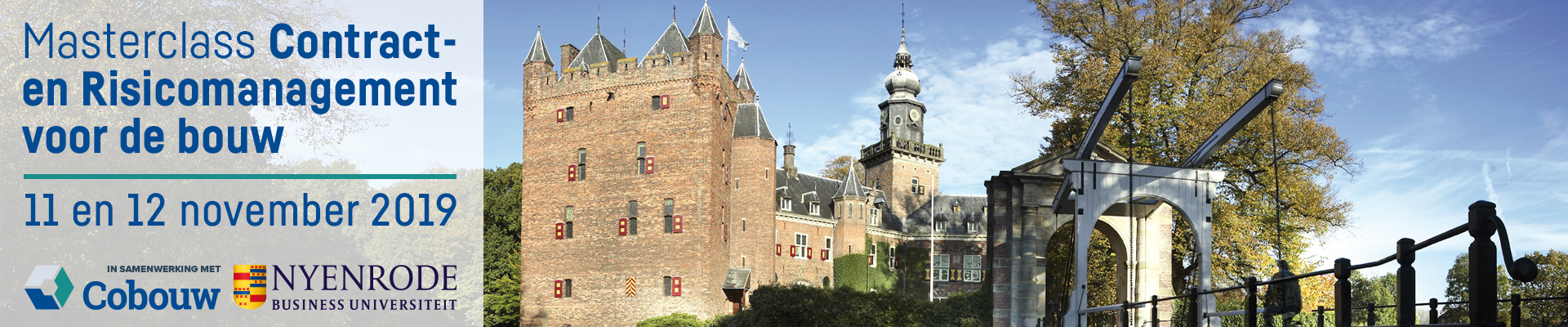Nyenrode Contract- en risicomanagement 11 & 12 november