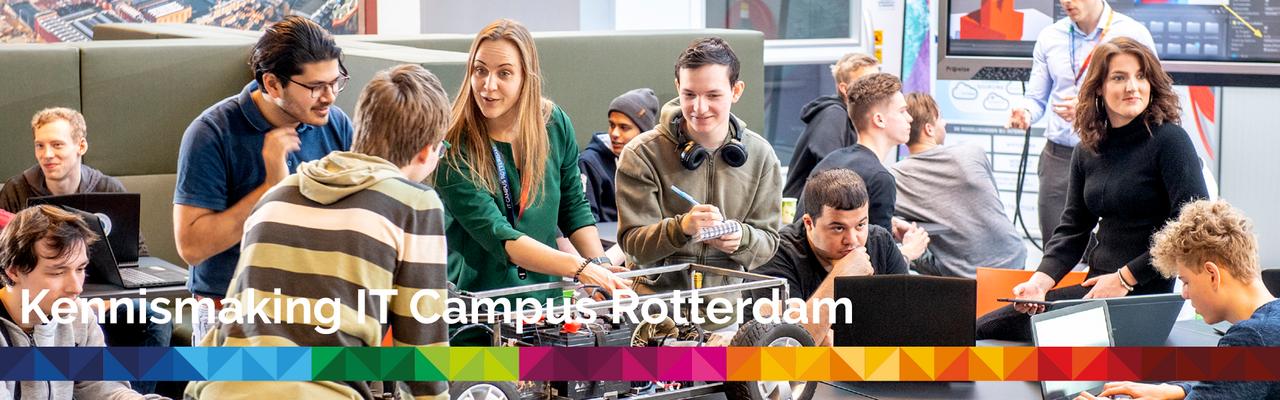 Kennismaking IT Campus Rotterdam