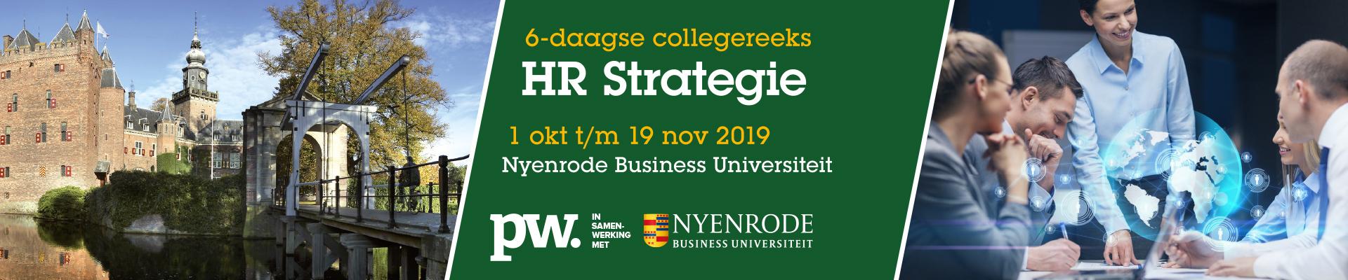 HR Strategie najaar (Nyenrode)  2019