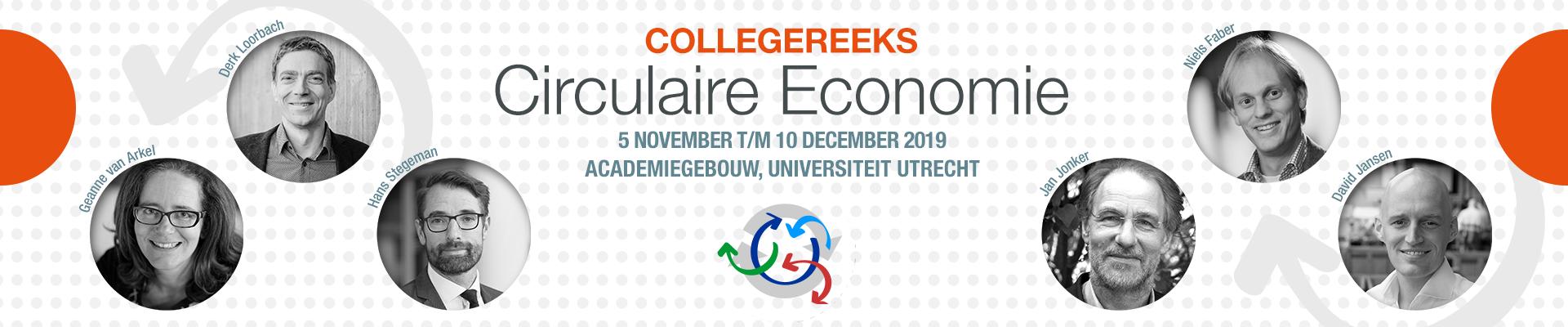 Collegereeks Circulaire Economie najaar 2019