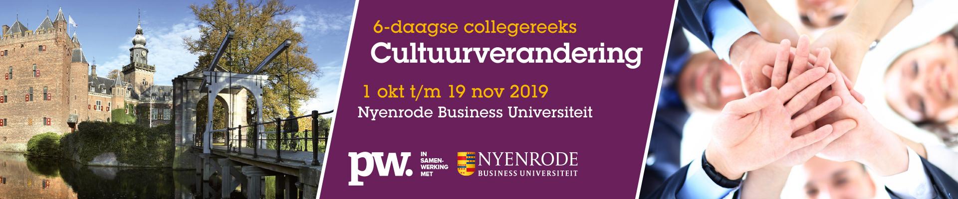 HR Cultuurverandering najaar (Nyenrode) 2019