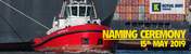 Naming ceremony tug 'Buffalo'