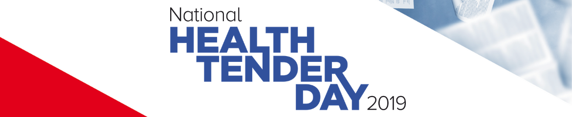 National Health Tender Day | 11 september 2019