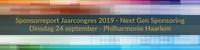 Sponsorreport Jaarcongres 2019