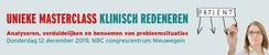 Masterclass Klinisch Redeneren | 12 december 2019