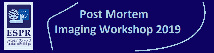 ESPR Post Mortem Imaging Workshop 2019