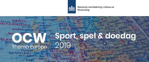 OCW Sport, spel & doedag 2019