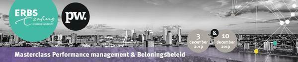 Erasmus Performance Management & Beloningsbeleid 3 en 10 december 2019