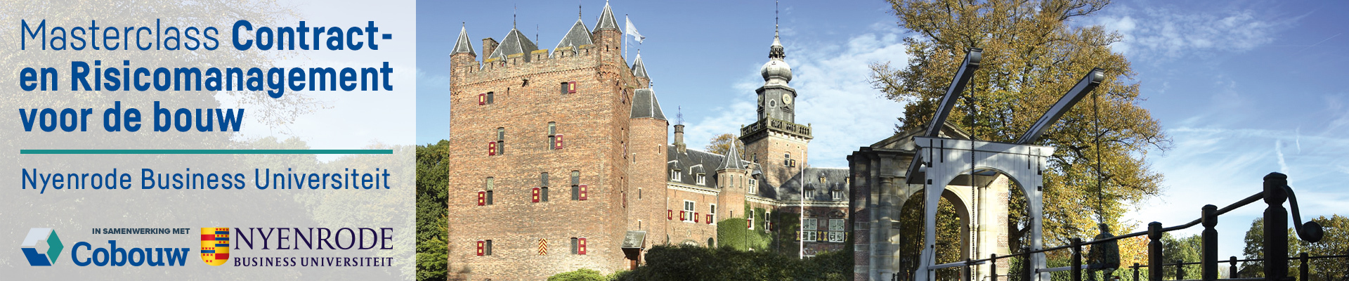 Nyenrode Contract- en risicomanagement 25 & 26 november