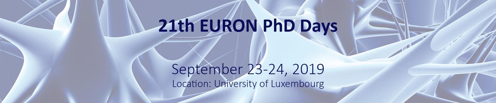EURON PhD days