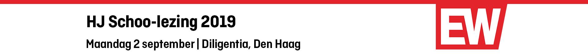 HJ Schoo-lezing 2019