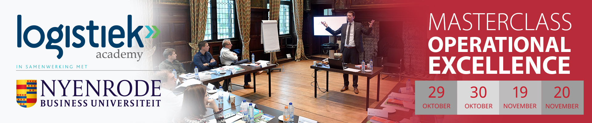 Masterclass Operational Excellence Najaar 2019