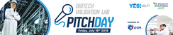 BioTech Pitch Day | 19 JULY 2019
