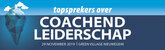 Topsprekers over coachend leiderschap | 29 november 2019