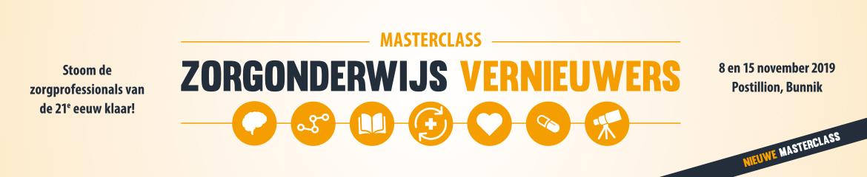 Masterclass Zorgonderwijsvernieuwers | 8 en 15 november 2019
