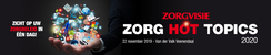 Congres Zorg HOT Topics | 22 november 2019
