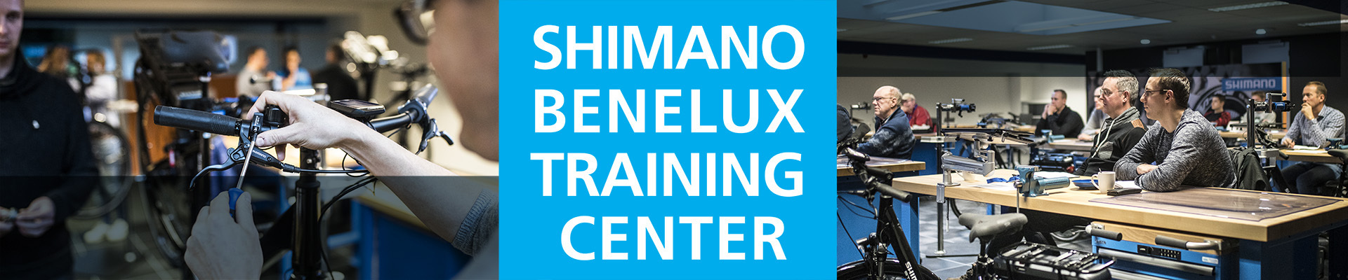 Shimano Benelux Training Center 2019 - 2020