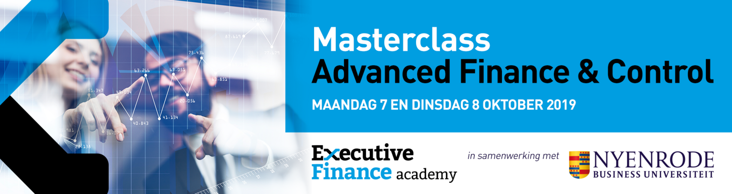 Masterclass Advanced Finance & Control najaar 2019 (Nyenrode)