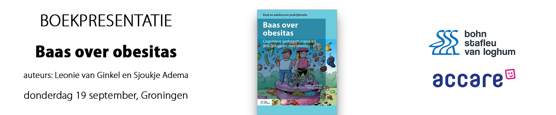 Boekpresentatie 'Protocol Baas over Obesitas'