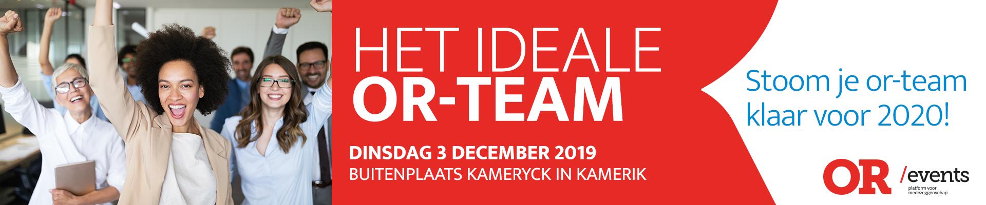 Het ideale or-team  3 december 2019