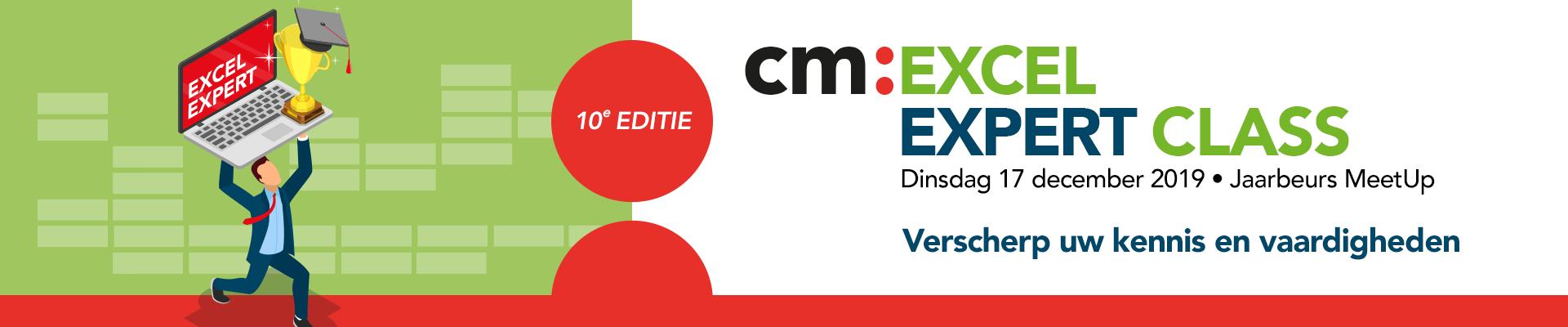 Excel Expert Class 2019