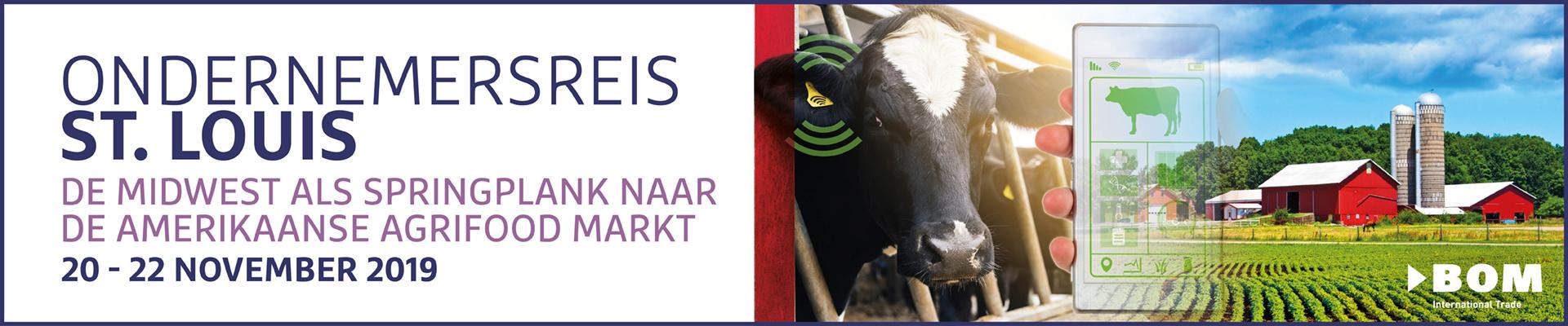 Ondernemersreis St. Louis 2019 - agrifood markt