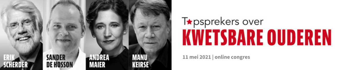 Topsprekers over Kwetsbare Ouderen    |    12 mei 2020
