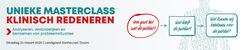 Masterclass Klinisch Redeneren | 24 maart 2020