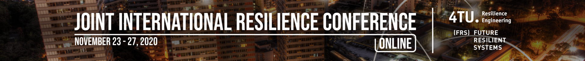 Joint International Resilience Conference 2020