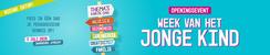 Openingsevent 'Week van het jonge kind'   8 april 2020