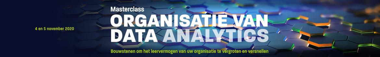 Masterclass Organisatie van Data Analytics | 4 en 5 november 2020