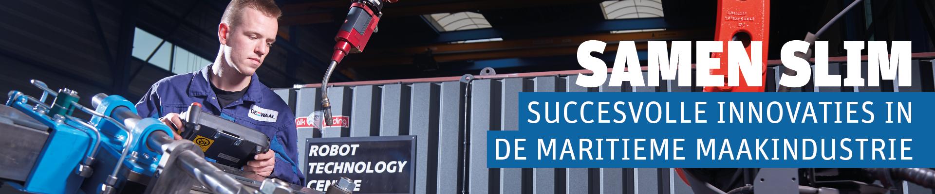 Samen Slim - succesvolle innovaties in de maritieme maakindustrie