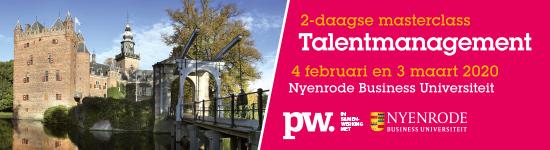 Masterclass Talentmanagement Nyenrode voorjaar 2020