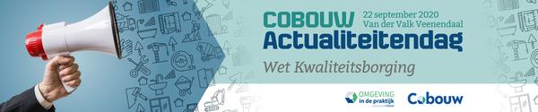 Cobouw Actualiteitendag -  Wet- en regelgeving sept 2020