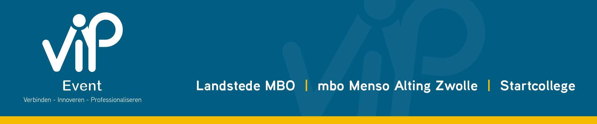 MBO V.I.P.-event 2020 - aanmelden deelsessieleider