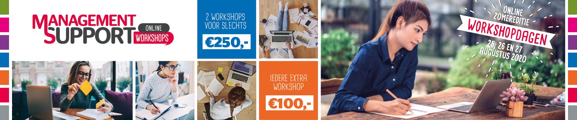 Workshopdagen Management Support 2020