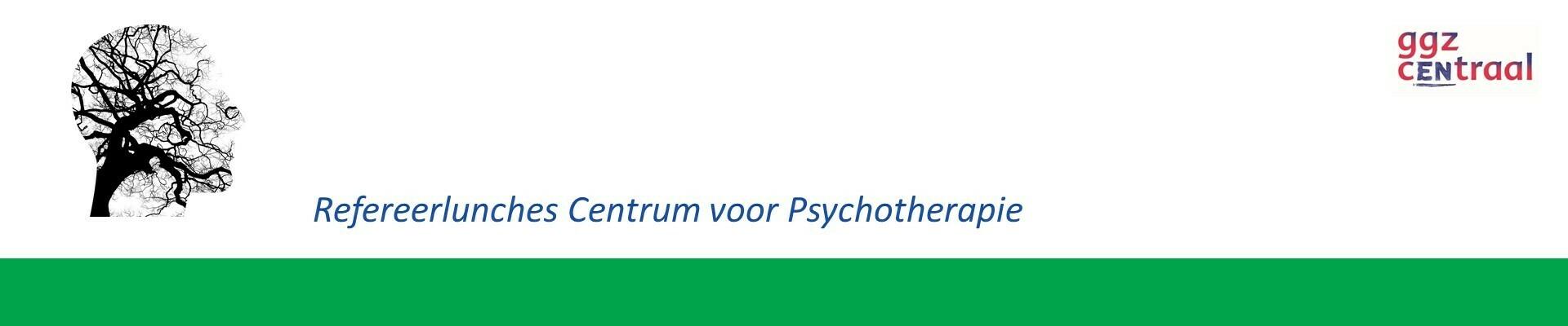 Refereerlunch Centrum voor Psychotherapie 14 september