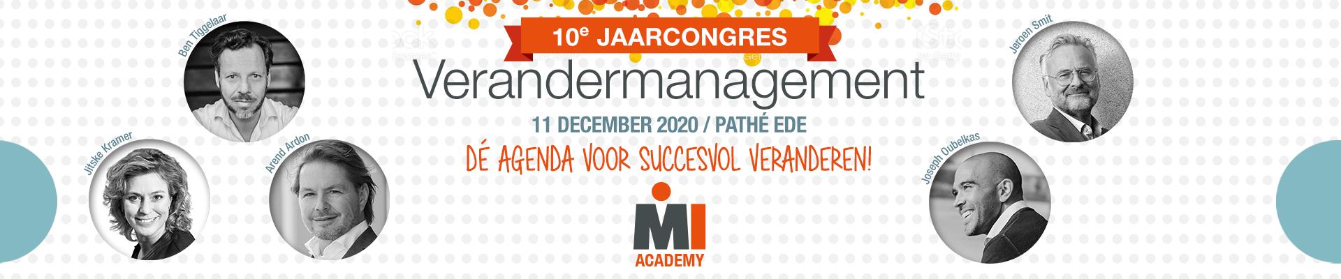 Jaarcongres Verandermanagement 2020
