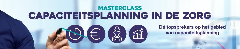 Masterclass Capaciteitsplanning in de zorg| 9 en 10 juni 2020